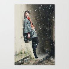 Snowscape IV Canvas Print