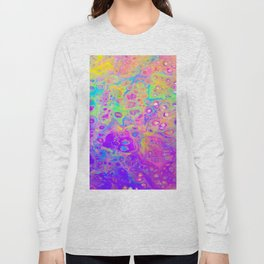 Rainbow Psychedelic Bubbles Long Sleeve T-shirt