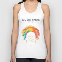 paramore Tank Tops featuring Music to DYE for — Music Snob Tip #075 by Elizabeth Owens