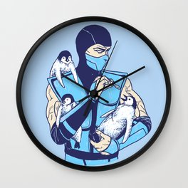 Animality Wall Clock