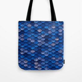 Blue Penny Scales Tote Bag