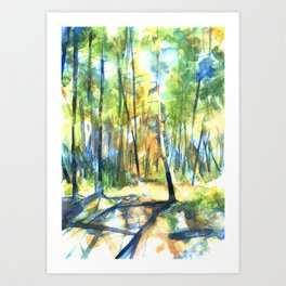 Scenes from the Forest II Art Print