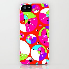 Bubble Red iPhone Case