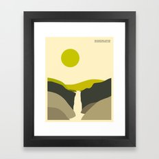 YELLOWSTONE NATIONAL PARK Framed Art Print