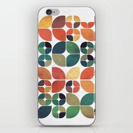 Vintage Fall Pattern iPhone Skin