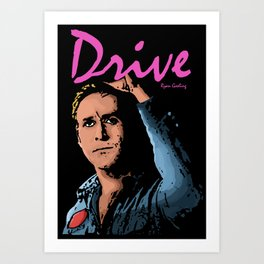 Get In. Get Out. Get Away. Art Print