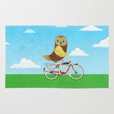 Owl Bicycle Rug