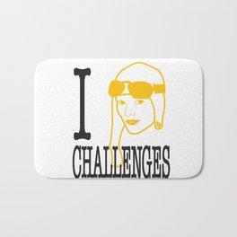 I __ Challenges Bath Mat