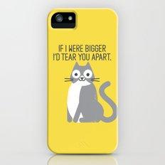 Purrfectly Honest Slim Case iPhone (5, 5s)