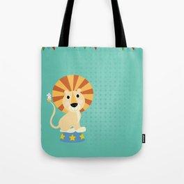 Circus Lion  Tote Bag