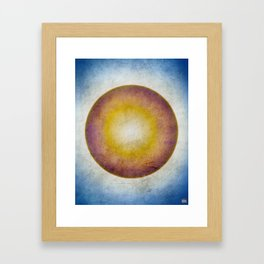 Sky Sphere Framed Art Print