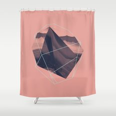 fragment II Shower Curtain