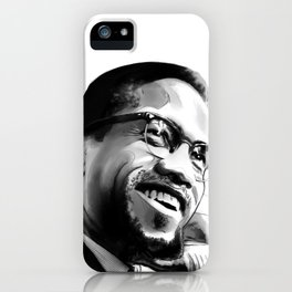 Malcolm Smile by Joaquín Esteban J. iPhone Case