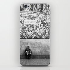 street musician iPhone & iPod Skin