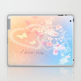 ... i love you ... Laptop & iPad Skin