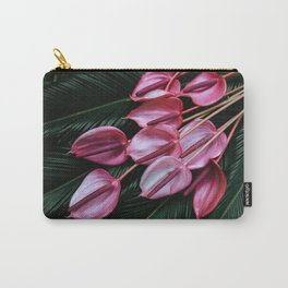 Anthurium and Sago Palm Carry-All Pouch