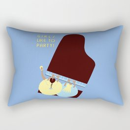 Girls like to Party! Rectangular Pillow