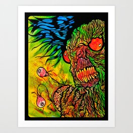 Mmmm brains!! Art Print