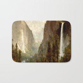 Bridal Veil Falls, Yosemite Valley 1892 Bath Mat