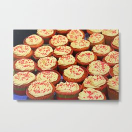 Frosted Cupcakes Metal Print