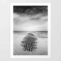 Seawards Art Print