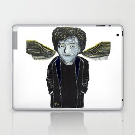 Kurt Vonnegut Jr Oil Painting by Tony King  Laptop & iPad Skin