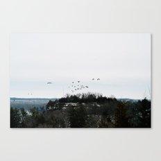 Winter Landscape. Canvas Print