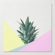 Pineapple Dip V Canvas Print