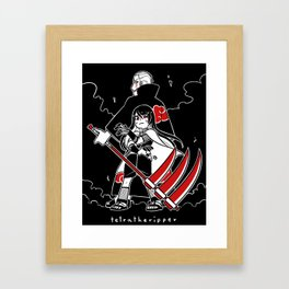 Naruto Commission  Framed Art Print