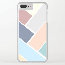art deco 'tiles' Clear iPhone Case