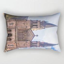 Basilica of Santa Maria Rectangular Pillow
