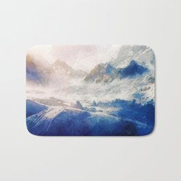 Mountain Winter Dream Bath Mat