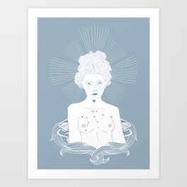 Aquerius Art Print
