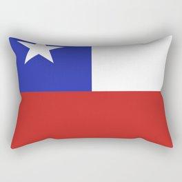 Chile flag emblem Rectangular Pillow