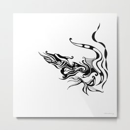 Dragon — Alternative t-shirt style (small image) Metal Print