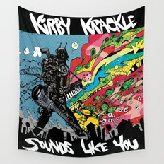 Kirby Krackle - Sounds Like You - Album Art Wall Tapestry