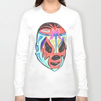 mexico Long Sleeve T-shirts featuring MEXICO by MANDIATO ART & T-SHIRTS