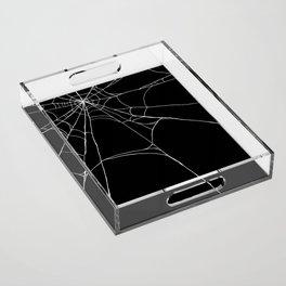 Spiderweb Acrylic Tray