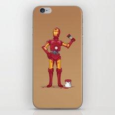 Iron Droid iPhone & iPod Skin
