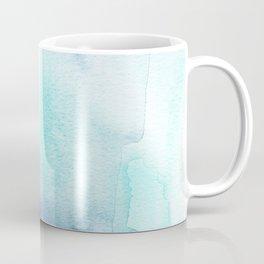 Wanderlust Teal Blue Watercolor Coffee Mug