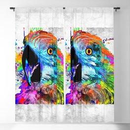 Ara Parrot Blackout Curtain