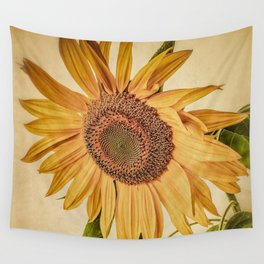Vintage Sunflower Wall Tapestry