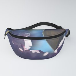 Sakura Seven - Pink Cherry Blossoms with green leave Fanny Pack