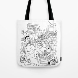 2013 Soul Music Room  Tote Bag
