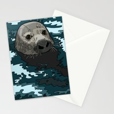 Grey Seal Stationery Cards