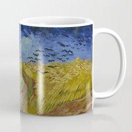 Wheatfield with Crows Coffee Mug