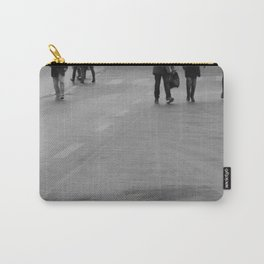 walking on the street Carry-All Pouch