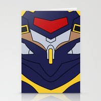 evangelion Stationery Cards featuring Evangelion Mark.06 by Bunny Frost