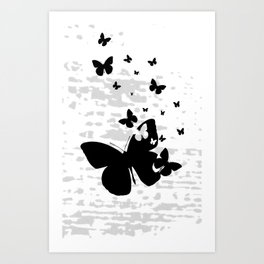 Nothing But To Fly Art Print