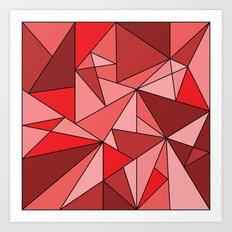 Redup Art Print